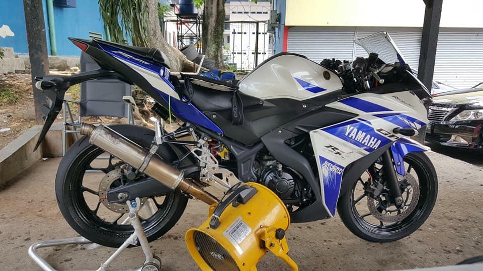 Modifikasi Mesin Yamaha R25: Cuma Ubah 7 Part, Power Tembus 49,14 Hp On Wheel!