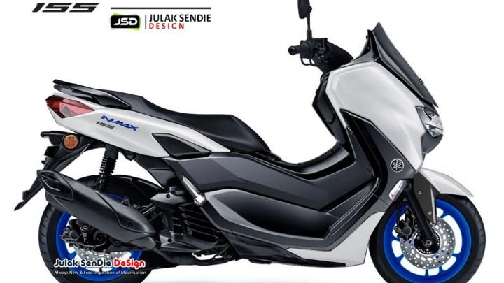 99,9% New Yamaha NMAX 2020 Bakal Launching Tanggal 2 Desember 2019!