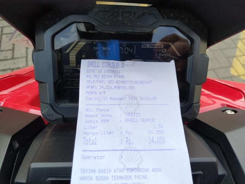 Bikin Kaget Konsumsi BBM ADV 150 Bore Up Tembus 23 Km/Liter, Boros Banget…!!!!