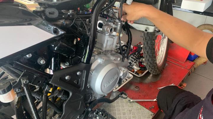 Bore Up Yamaha WR155R Jadi 183cc, Tarikan Lebih Nampol & Konsumsi BBM Lebih Irit!