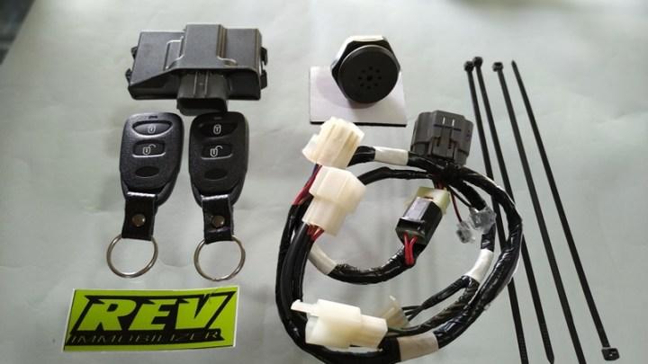 REV Immobilizer Yamaha XSR155: Alat Pengaman Terbaik, Mudah Dipasang & Bergaransi!