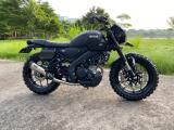 Modifikasi Yamaha XSR155 Tracker