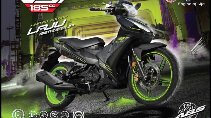 Ngalahin Motor Sport 150cc, Motor Bebek SYM VF3i 185 Dibekali Mesin Berkapasitas 185cc!