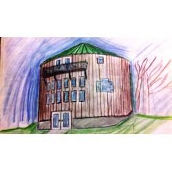 Small Crop Of Grain Bin House