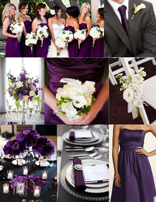 Inspiration wednesday purple wedding ideas perpetually daydreaming purple wedding ideas sources junglespirit Gallery