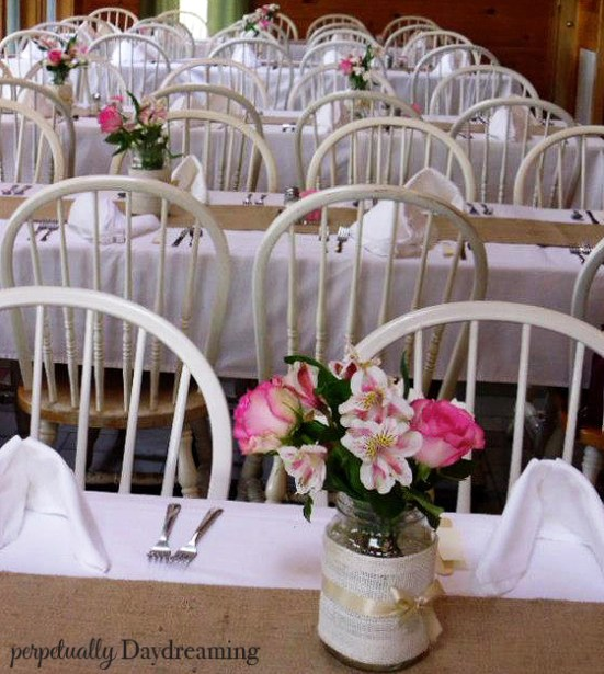CountryBridalShowerTable