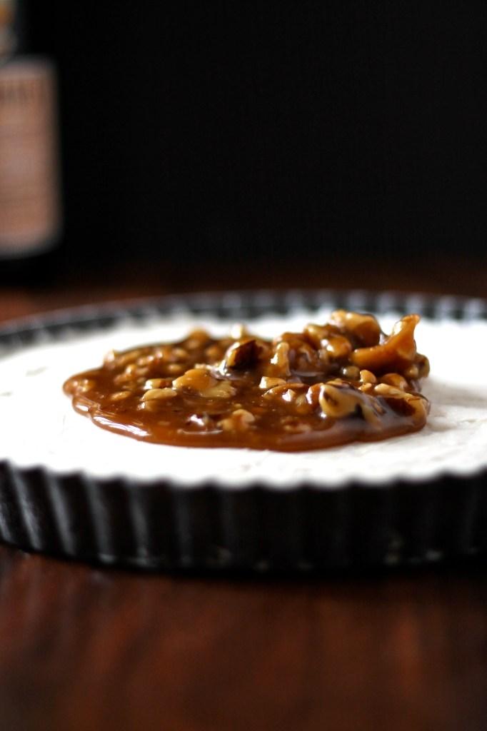 Fernet Branca and Walnut Ice Cream Pie