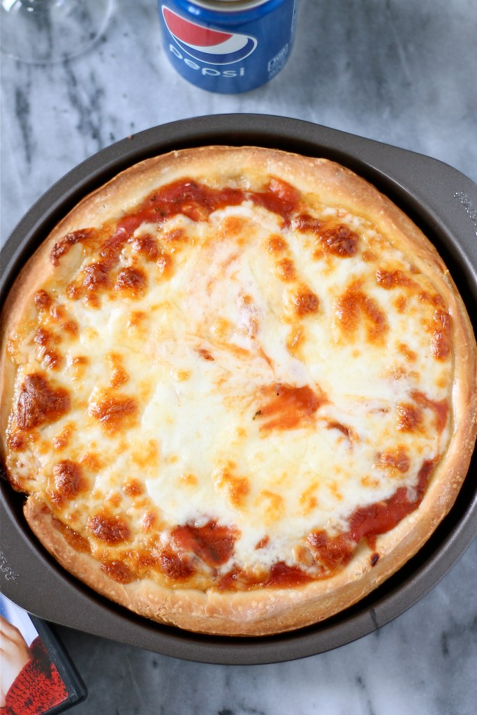 Plain Cheese Pizza Inspired by Home Alone