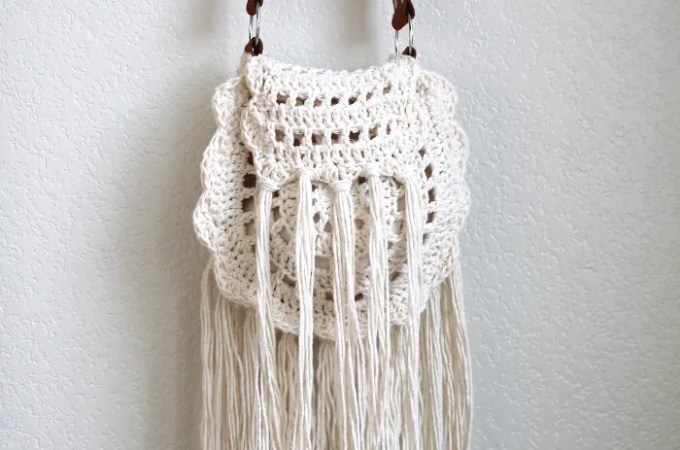 Boho Tassel Crochet Bag Pattern