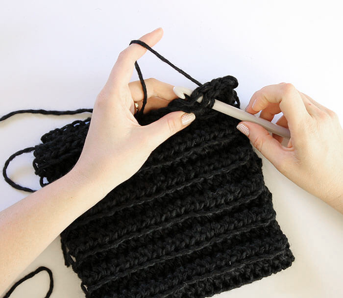 how to finish crochet hat