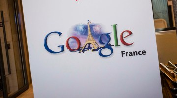 © Marlene Awaad / IP3; Paris, France le 10 decembre 2013 - Institut Culturel de Google, au siege de Google France. (MaxPPP TagID: maxpeopleworld771176.jpg) [Photo via MaxPPP]