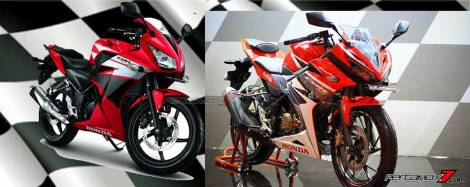 Komparasi Honda CBR150R 2014 VS All New CBR150R 2016 pertamax7.com