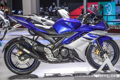 yamaha R25 Revving Blue 2016 India