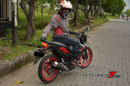Review Testride All New Suzuki Satria F 150 Injeksi 2016 10 Pertamax7.com