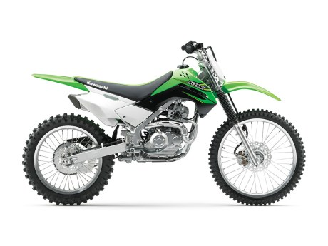 2017 Kawasaki KLX140G Side View