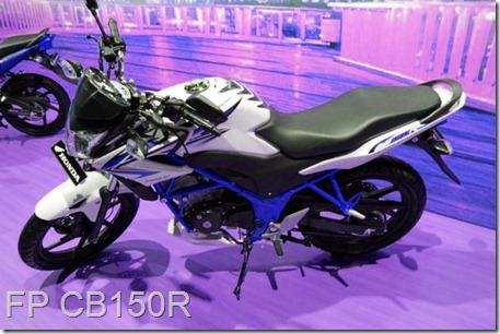 honda CB150R blue TRUSS (Small)