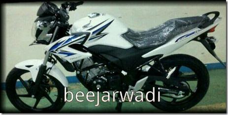 honda cb150r putih biru