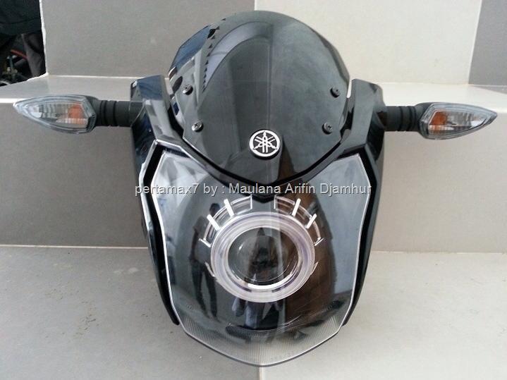 Pertamax7Com Yamaha New Vixion Berheadlamp HID PROJECTOR