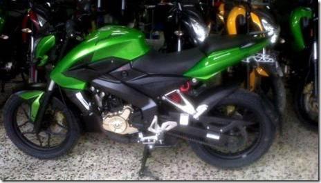 kawasaki P200Ns green