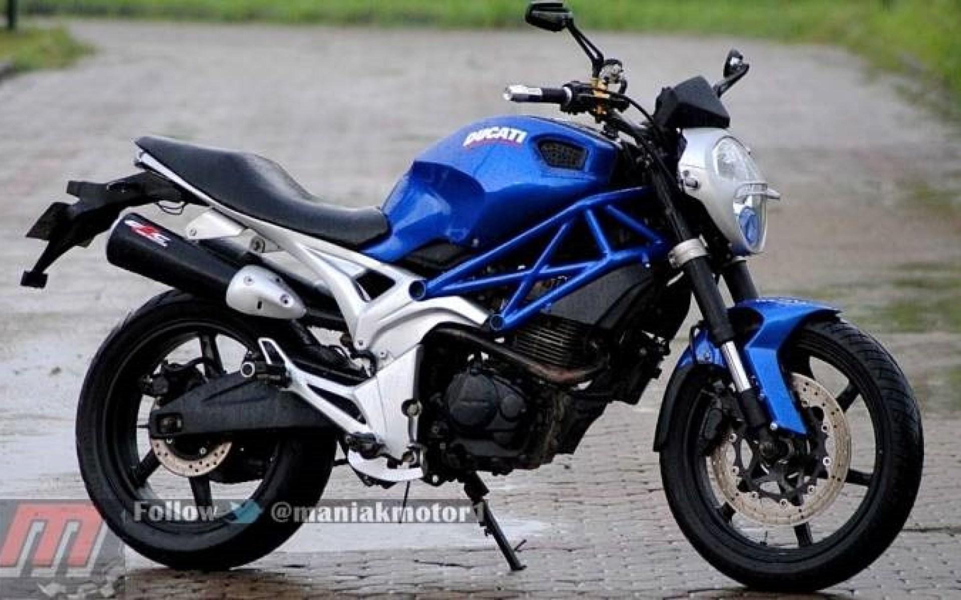 Koleksi Modifikasi Motor Tiger Ala Ducati Terbaru Dan Terlengkap