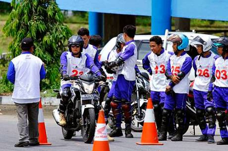 Astra Motor Jogja Gelar Kompetisi Safety Riding 2