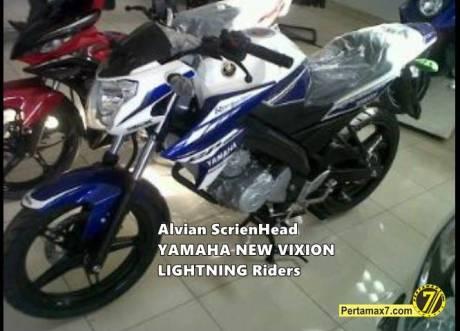 yamaha New Vixion LIghtning livery motogp