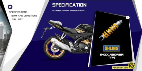 Yamaha R15 Special Edition Gold Ohlins