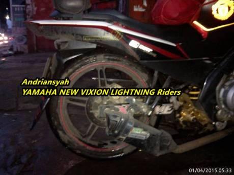 Conrod shock breaker Yamaha vixion patah 11
