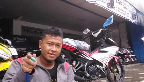 Pertamax7.com bertemu yamaha Jupiter MX king 150 di Wonogiri