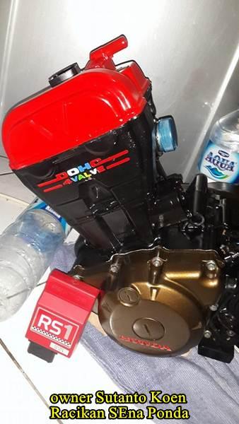 Honda CB150R silinder kop merah modif 172 cc sena ponda 03  Pertamax7.com