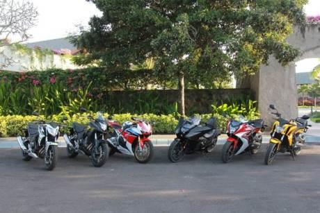 Jajaran Big Bike Honda Indonesia