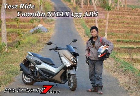 Testride Yamaha NMAX 155 ABS, Handling Mantabh Pengereman Akurat.. Tabungan Alamat 13 Pertamax7.com
