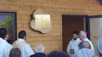 26/11/16 - inaugurazione nuova chiesa del cimitero di Pescara