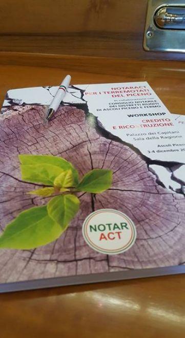 """03/12/16 - Intervento nel convegno """"Notaract per i terremotati del Piceno"""""""