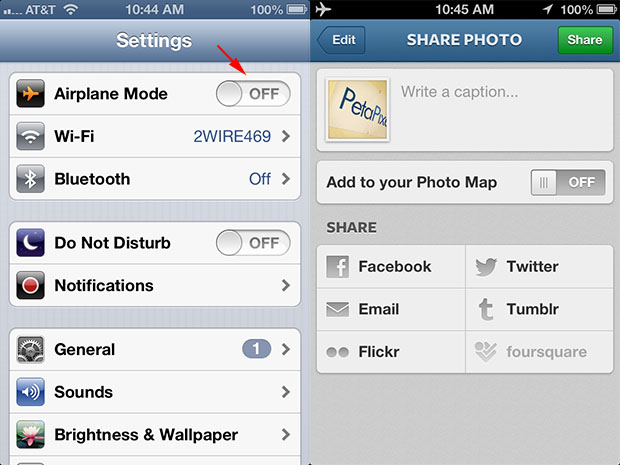 How to Save Instagram Photos Without Sharing Them on Instagram airplaneinstagram1