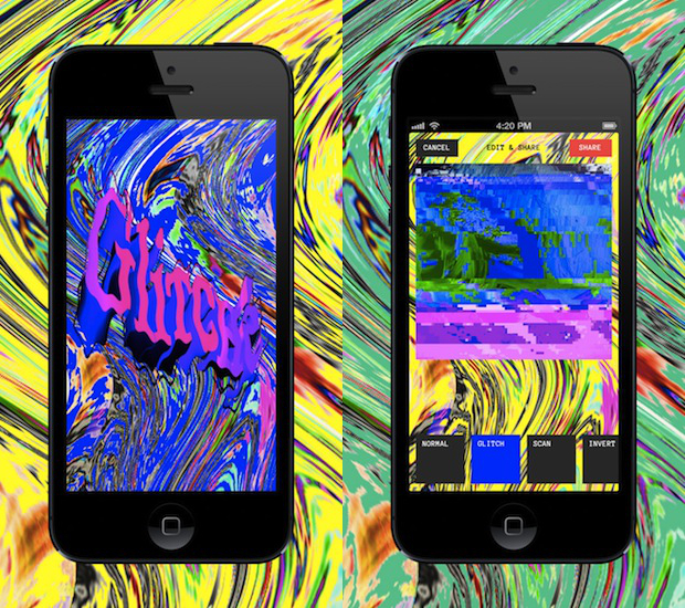 Glitch App Intentionally Distorts Photos Into Works of Digital Art glitche
