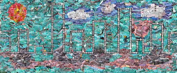 Massive Photo Collage Creatively Depicts Every Street Sign in Manhattan manhattansigns