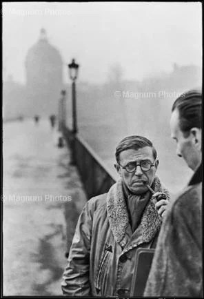Learn Composition from the Photography of Henri Cartier Bresson Henri Cartier Bresson Sartre