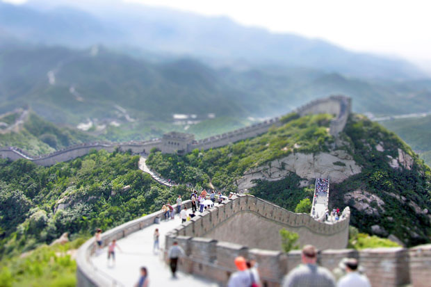 The Great Wall of China by Richard Silver