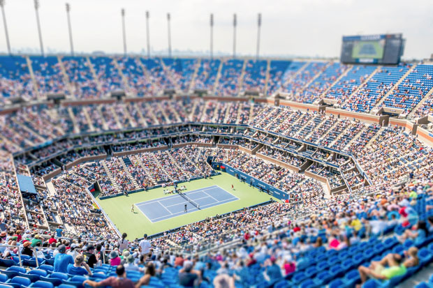 The US Open in New York City by Richard Silver