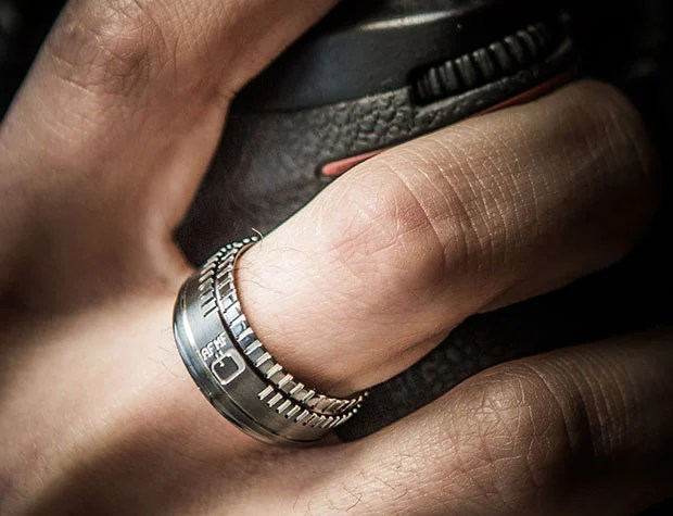 A Lens Inspired Wedding Ring Designed for Love Struck Photographers lensring0
