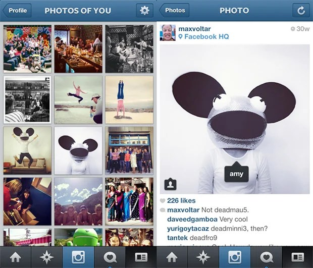 Instagram Now Lets You Tag People and Brands in Photographs photosofyou