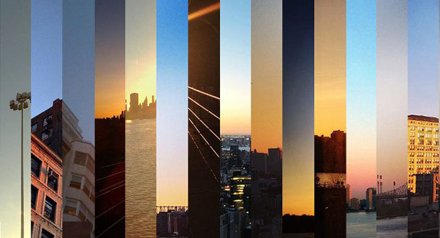 Photographs of the Sky, Captured Across New York City at the Same Moment sameskyny