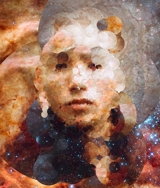 Portraits Created from Pictures of Space Taken by the Hubble Telescope 9344925348 363367ce72 z