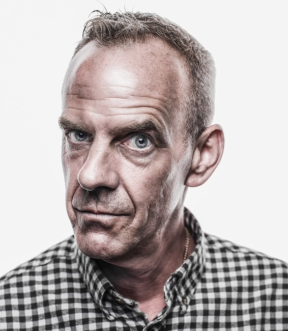 Photographer Does a Portrait Shoot with Fatboy Slim in Less than 30 Seconds Fatboy SLim copie