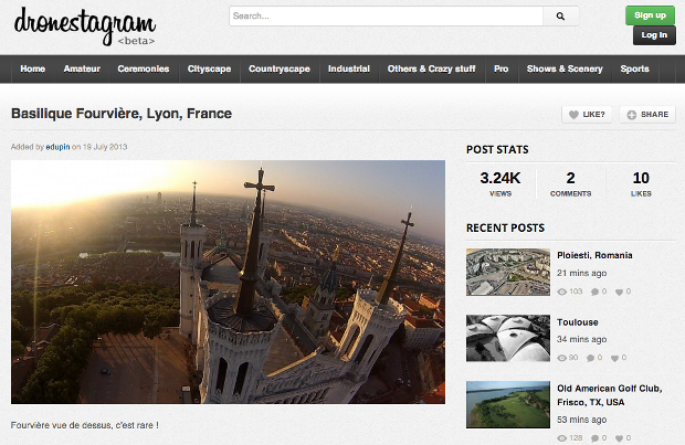Dronestagr.am: The Social Photo Sharing Network for Drone Photographers dronestagram3