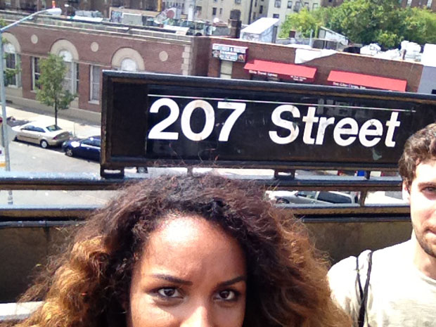 Couple Captures Selfies at Each of the 118 Subway Stations in Manhattan subwaystops 2