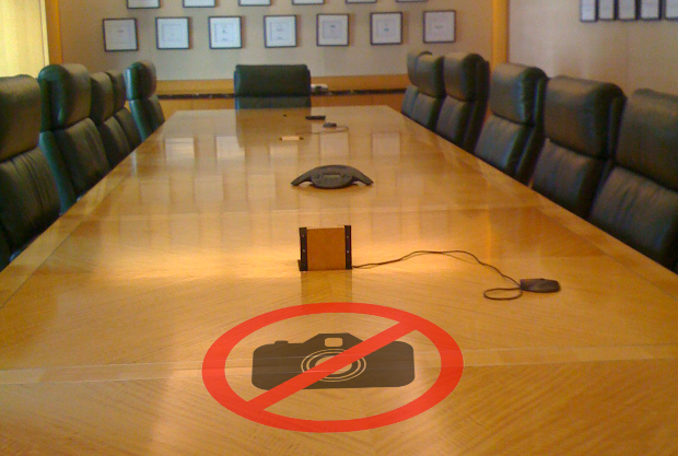 AOL CEO Fires Employee During Layoffs Meeting for Pulling Out a Camera boardroom1