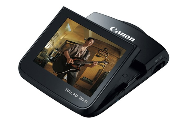 Canon Brings Back the Pocket Camcorder with the WiFi Enabled Vixia Mini vixia4