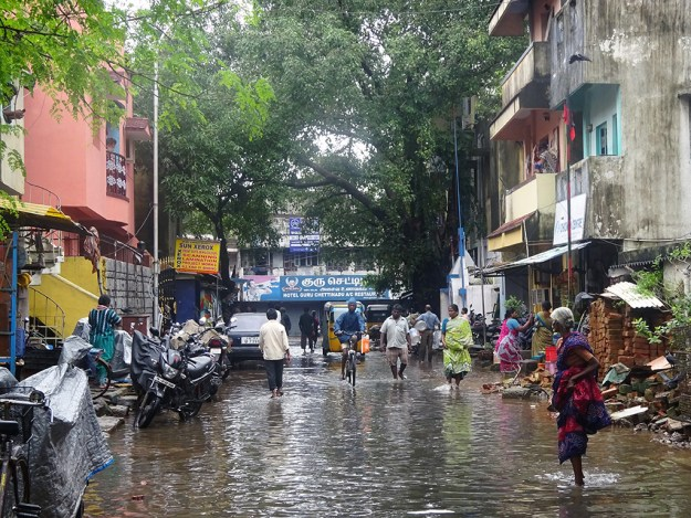flooding in seetha nagar